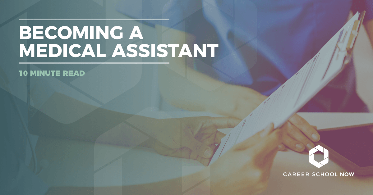 How to become a medical assistant in as little as 6 weeks-certified medical assistant training information