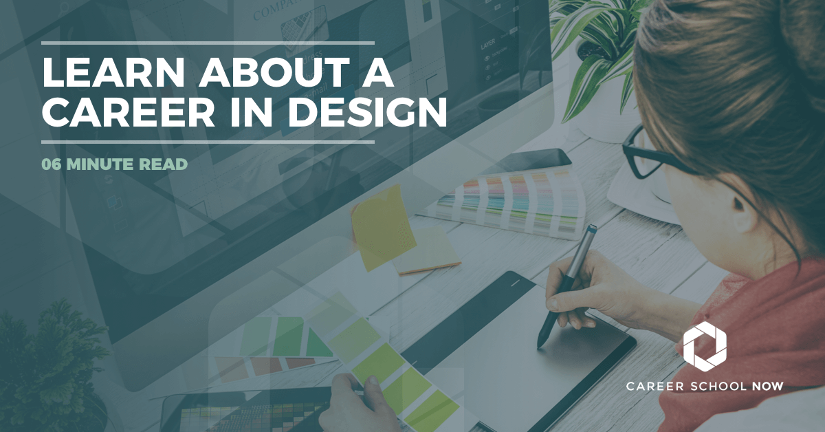 learn about careers in design-graphic design, web design, interior design education and career information