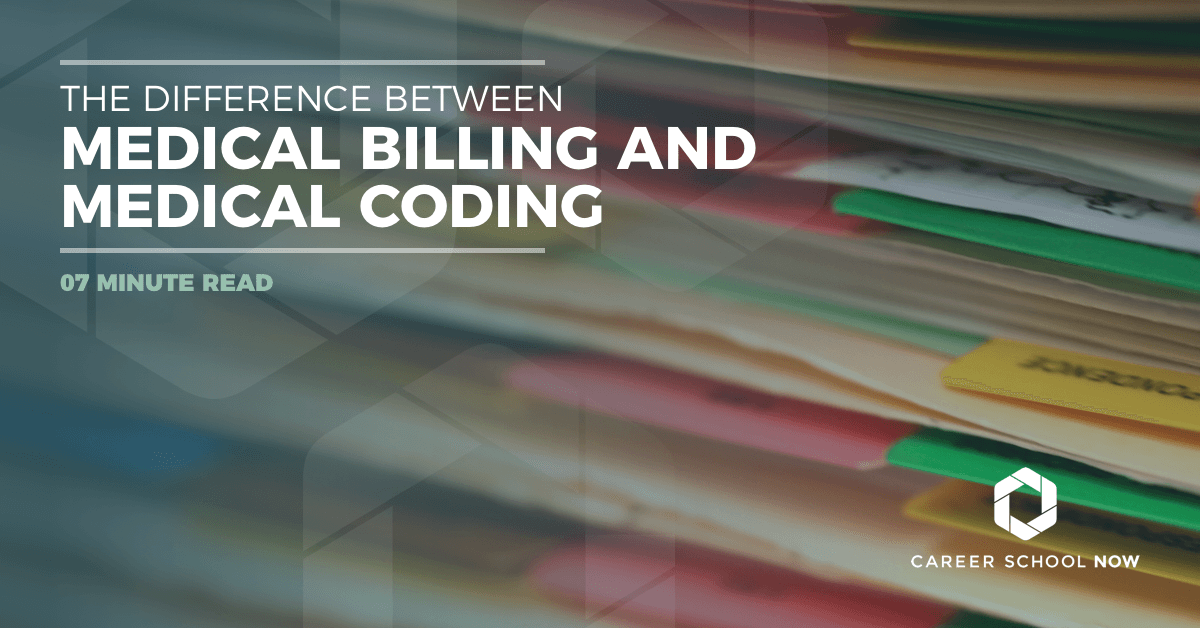 What's the difference between medical billing and medical coding, education and career information