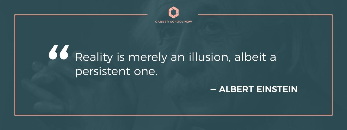 Albert Einstein quote-architect career