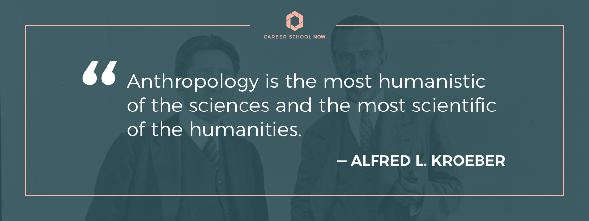 Alfred L. Kroeber quote-How to become an anthropologist