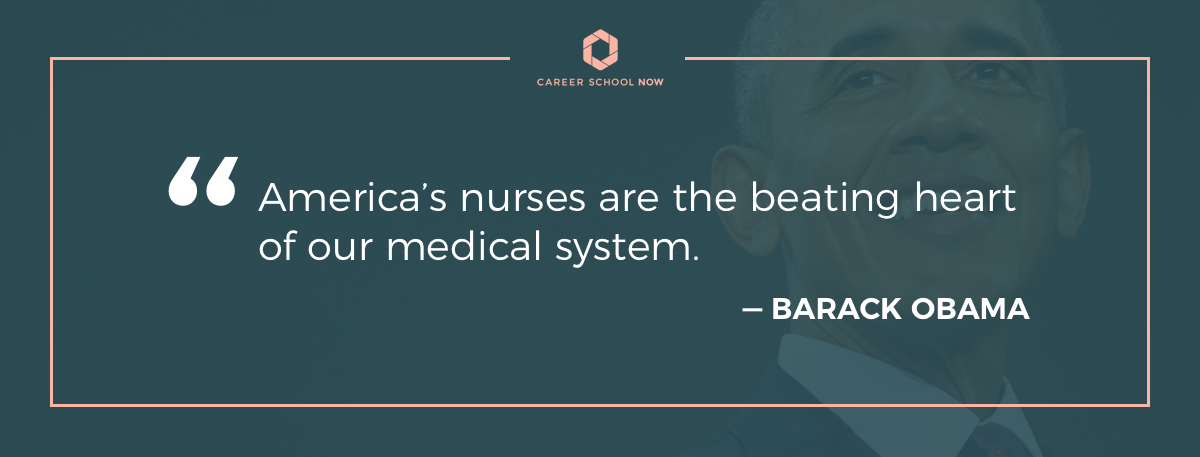 Barack Obama quote on article How to become a licensed practical nurse
