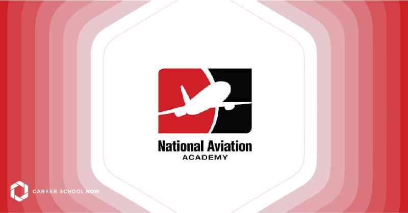 national aviation academy logo graphic