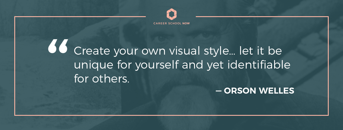 Orson Welles quote-Article on how to become a web designer