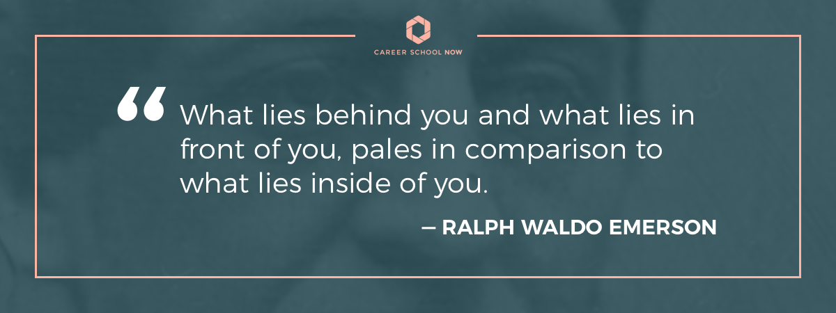 ralph waldo emerson quote-become a dental assistant info