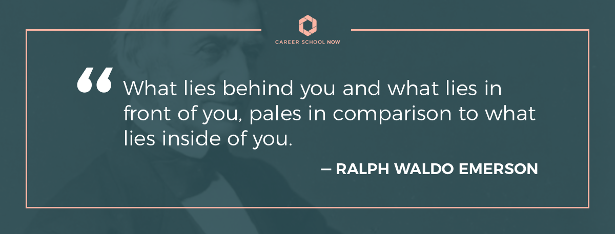 ralph waldo emerson quote-article how to become a phlebotomy tech