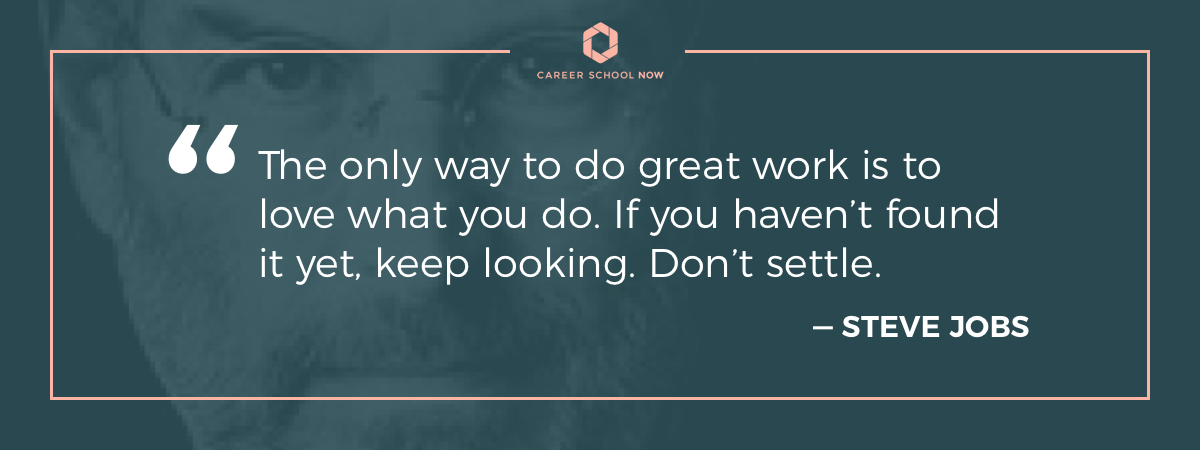 steve jobs quote-how to become a dental assistant info