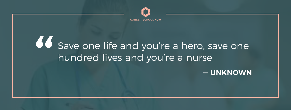 Unknown quote about nursing on article how to become a licensed practical nurse
