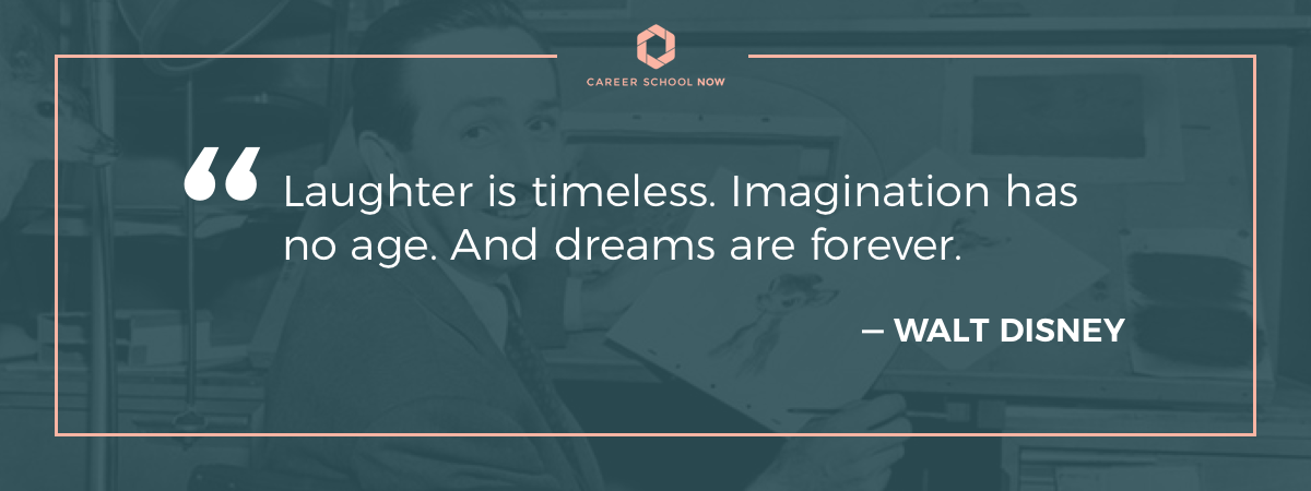Walt Disney quote-Become an architect