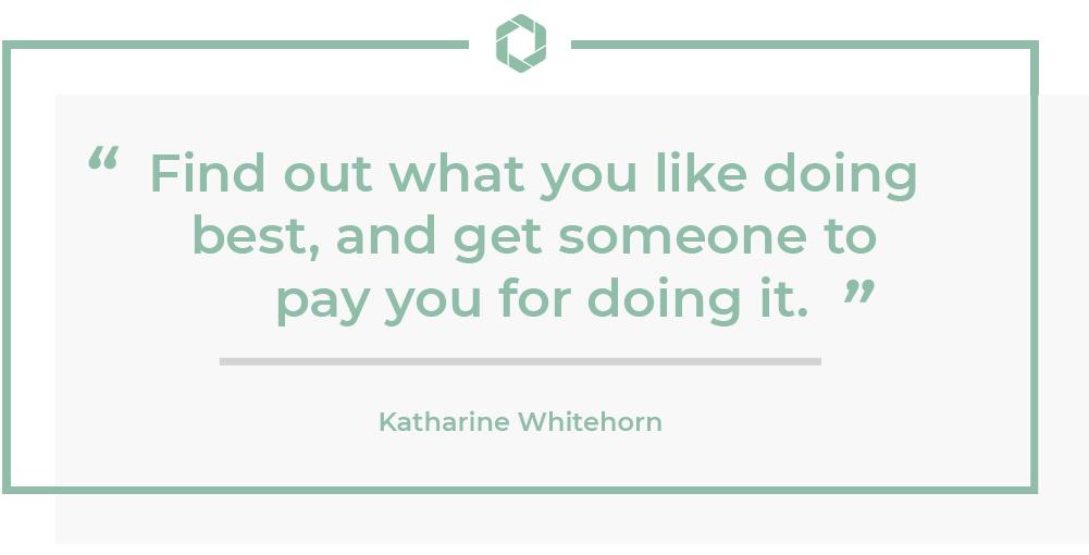 Katharine Whitehorn Quote